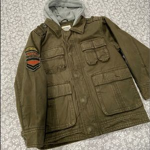 Old Navy Military Inspired Hooded Jacket
